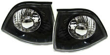 BLACK BACKGROUND INDICATORS FOR BMW E36 3 SERIES COUPE CONVERTIBLE CABRIOLET