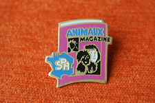 07059 PINS PIN'S SPA ANIMAUX MAGAZINE PRESSE