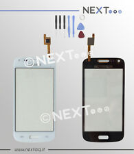 Touch screen schermo Samsung Galaxy Core Plus SM G350 G3500 bianco kit biadesivo