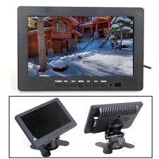 "HD 7"" TFT LCD Monitor 1024*600 VGA BNC Video Audio For PC,CCTV Camera,VCD,DVD"