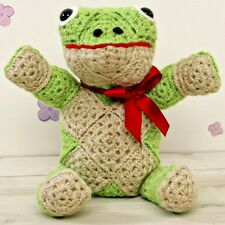 Finlay Frog Easy Toy Crochet Kit Set inc DK Robin Wool Pattern Hook Needle