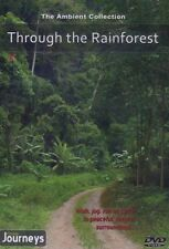 THROUGH THE RAINFOREST VIRTUAL WALK WALKING TREADMILL WORKOUT DVD AMBIENT COLL