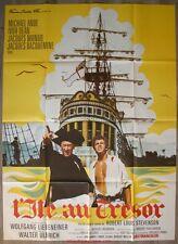 L'ILE AU TRESOR Affiche Cinéma / Movie Poster Wolfgang Liebeneiner