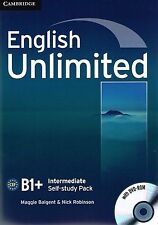 Cambridge ENGLISH UNLIMITED INTERMEDIATE Self-Study Pack/Workbook w DVD-ROM @New