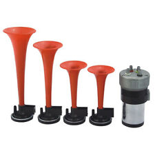 EYES OF TEXAS AIR HORN KIT 4 Trumpets 12v Compressor
