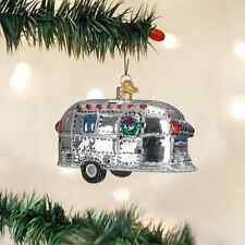 *Vintage Trailer* Travel Airstream [46053] Old World Christmas Ornament - NEW