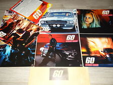 60 SECONDES CHRONO    ! photos cinema prestige lobby cards mustang cars