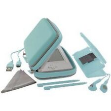 New DS Lite Exspect Essentials Pack Skin Case Cover Earphones USB Stylus Blue