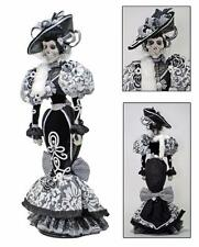 "Katherine's Collection Halloween Rosario Calakita Skeleton Doll 36"" NIB"