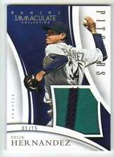 2015 Immaculate Pitchers Prime Jersey Patch Relic /15 Felix Hernandez Mariners