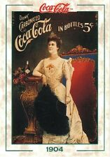 "TARGA VINTAGE ""1904 COCA COLA DRINK"" PUBBLICITA',ADVERTISING,POSTER, RETRO PLATE"