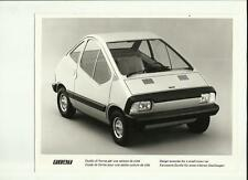"FIAT esercizio di design per le piccole Town Car PRESS PHOTO ""SALES BROCHURE"""