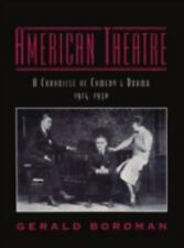American Theatre: A Chronicle of Comedy and Drama, 1914-1930 (Vol 2)