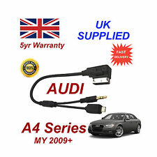 AUDI A4 Series cable For Samsung Galaxy S2 S3 S4 S5 Micro USB & AUX 3.5mm Cable