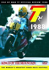Isle of Man TT - Official Review 1988 (New DVD) King of the Mountain