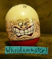 Mighty Beanz 2010 Series 1 Ultra Rare #10 STRONG MAN Bean Mint OOP Free US CS