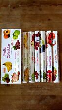 DARSHAN INCENSE STICKS 6 HEXAGONALS BOXES =120 STICKS FRUITS COLLECTION SCENT