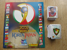Panini wm WC 2002 Corea Japón 02, en blanco álbum/Empty album + complete set of stickers