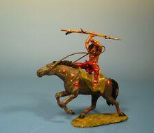 Orig. Lineol (Elastolin) Wild West – Indianer zu Pferd – 7cm Serie