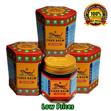 3 x 30 G Best TIGER BALM HERBAL RED OINTMENT MASSAGE RELIEF MUSCLE Aches & Pains