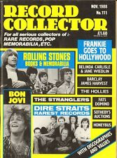 RECORD COLLECTOR 111 Rolling Stones HOLLIES Honeybus STRANGLERS Tom Jones BOLAN
