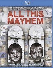 All This Mayhem (Blu-ray Disc, 2015) skateboard  BRAND NEW skateboarding