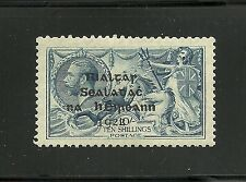 Ireland 1922 Mint SG21 sc 14 T14 10s Dollard seahorse - expertise mark