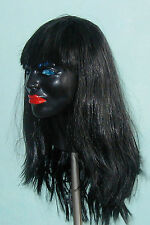 Be Female Black Cindy Mask with Red Lips Latex Masks!