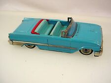 VINTAGE JAPAN TIN TOY CAR HAJI FORD CONVERTIBLE FRICTION CAR RARE