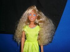 80s Barbie Size Maxie Doll and Pretty Dress ~ Hair Has Been Cut ~Parts/Play/OOAK