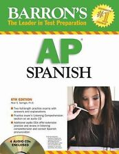 Barron's AP Spanish by Alice G. Springer (2008, Mixed Media, Revised)