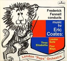 SRI 75109 FREDERICK FENNELL conducts music by eric coates LP PS EX+/EX