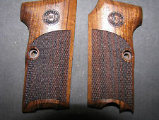 Astra 300 English Walnut Checkered Pistol Grips w/Astra LOGO Beautiful & NEW!