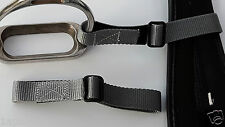 Pair adjustable STIRRUP to GIRTH STRAPS lower leg training aid, all colours