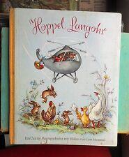 Lore Hummel: Hoppel Langohr eine lustige Hasengeschichte 1959 Ohln. Bilderbuch