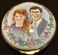 CRUMMLES BOX LIMITED EDITION #35 MARRIAGE OF PRINCE ANDREW TO SARAH FERGUSON