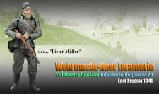 "Dragon 1/6 Scale 12"" WWII German Prussia Infantry Division Dieter Muller 70856"