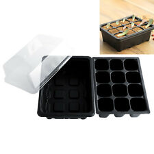 12 Hole Plant Seeds Grow Box Insert Propagation Nursery Seedling Starter Tray
