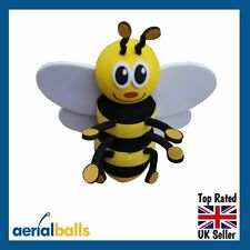Happy Honey Bumble Bee Car Aerial Ball Antenna Topper - BEST SELLER