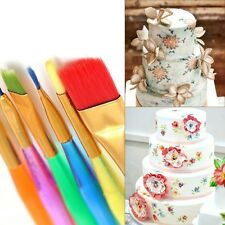 6Pcs Fondant Cake Decorating Painting Brush Flower Modeling Tool