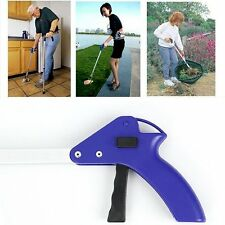 Folding Pick Up Reaching Tool Easy Reach Grab Grabber Stick Extend Reacher