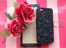 VICTORIA'S SECRET IPHONE 6 CARD HOLDER MIRROR GLITTER BLACK HARD CASE COVER