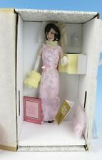 NIB Jacqueline Kennedy Paris Lights Porcelain Portrait Doll Franklin Mint