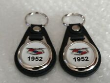 1952 CHEVROLET KEYCHAIN FOB 2 PACK CLASSIC MUSCLE CAR LOGO CHEVY FOB