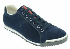 PRADA Sneakers Trainers Shoes Suede Scamociato Oltremare Size 8US/7UK NIB