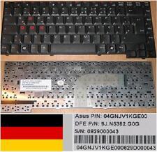 CLAVIER QWERTZ ALLEMAND ASUS A3V A4 A3H R20 A3G 9J.N5382.G0G 04GNJV1KGE00 Noir