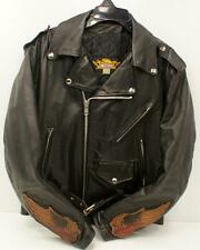 Universal Rider Women's Black Vintage Leather Jacket Sz 40 Made in USA