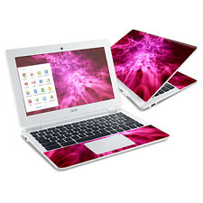 Skin Decal Wrap for Acer Chromebook 11 CB3-111 sticker Red Mystic Flames