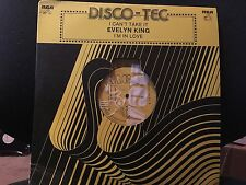 EVELYN KING I CAN'T TAKE IT LP 1982 RCA TEC-111 YELLOW VINYL