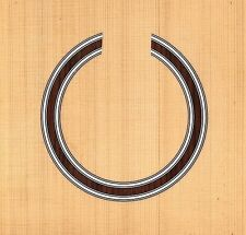 CLASSICAL GUITAR  ROSETTE,SOUND HOLE, WATERSLIDE DECAL/STICKER (HB-187)